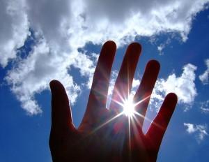 bright hand